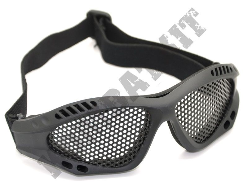 e0c135824ce ... airsoft glasses metal mesh safety goggles sports eye protection black  tactical. Product Code  K01-41115B