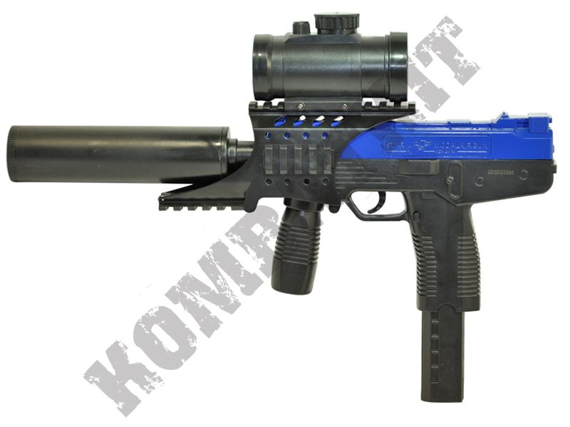 M30p bb gun steyr smg replica 2 tone blue cheap for Bb shop
