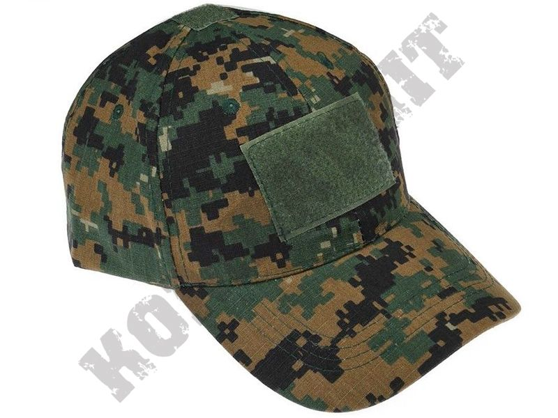 Military Operators Baseball Cap Green Digital Camo  b30da4bc98f0